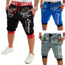 <b>ZOGAA Summer</b> Men Casual <b>Shorts</b> Boys Knit Length Letter Printed ...