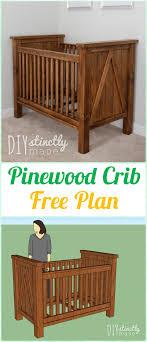 diy baby furniture. DIY Pinewood Crib Instruction - Baby Projects [Free Plans] Diy Furniture