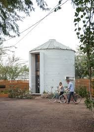 Grain Bin Home Silo Transformed Into House By Designer Christopher Kaiser Photos