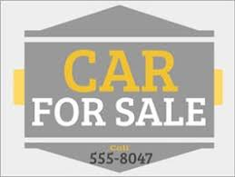auto for sale sign car for sale signs dashsigns com