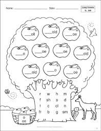 To view the worksheet activity or to download the pdf, click on the individual title. Long Vowels Ea Ee Phonics Tree Printable Skills Sheets