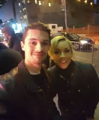 Met Jane Krakowski tonight on Broadway ...