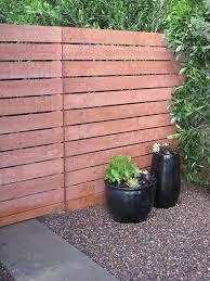 horizontal wood fence panels. Using Precut Home Depot Fence Panels To Make A Modern @amberinteriordesign.blogspot. Horizontal Wood