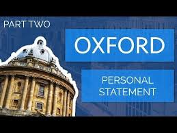 Personal statement ucas oxford   Easy Essay Writer Instructions