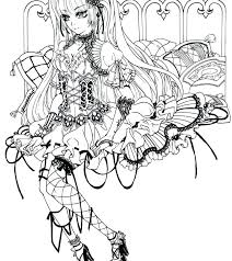 Goth Coloring Pages Coloring Page Goth Cute Coloring Pages
