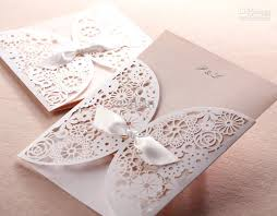 fast shipping white bow wedding invitations wedding cards Online Wedding Invitation Printing cheap wedding invitations discount elegant wedding table numbers online wedding invitation printing services