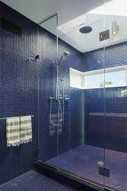 bathroom floor tile blue. These Small Blue Tiles Covering The Floor And Walls Give Bathroom A Textured Look Replace Need For Colored Paint. Tile