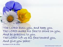 Blessing Quotes Bible Delectable May The Lord Bless You And Keep YouVerse