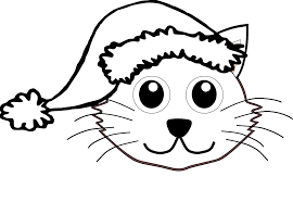Fresh Christmas Cat Coloring Pages Google Search Free Coloring Book