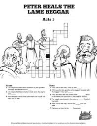 peter and john heal the cripple man | Children's Church Ideas ...