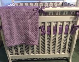 elephant mini crib bedding set