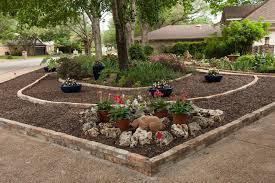 ... front yard garden No lawn garden makeover first spring ...