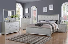 Beautiful Silver Bedroom Furniture Sets Contemporary