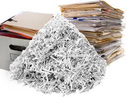 Bulk paper shredding near me