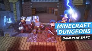 Gameplay de Minecraft Dungeons en PC ...
