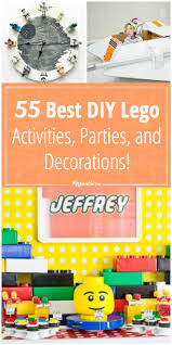 Lego Decorations For Bedroom 55 Best Diy Lego Activities Parties And Decorations Tip Junkie