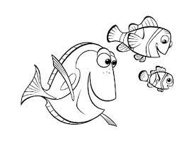 Finding Nemo Kleurplaten Disneykleurplatencom