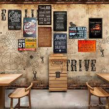 2021 retro iron painting bar home ktv
