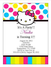 Hello Kitty Party Invitation Hello Kitty Birthday Invitation 13 From Southern Desktop Publishing