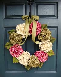 summer wreaths for front doorWREATHS Summer Wreaths Front Door Wreaths Hydrangea