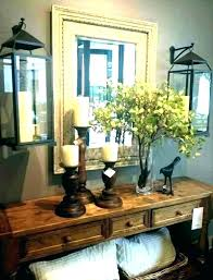 entry table decor round entry table decoration ideas
