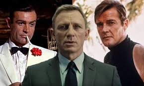 James Bond Comparison Chart Ages Of Each James Bond In First And Last Appearances From