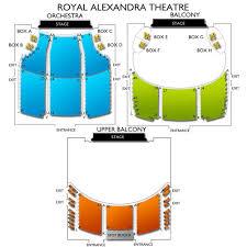 Royal Alexandra Theatre 2019 Seating Chart