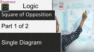 Clearly Understand Square Of Opposition Part 1 Of 2 In A Single Diagram