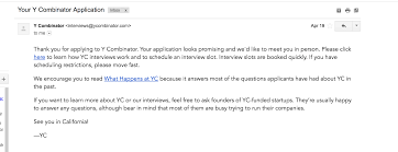 Thank You For Scheduling The Interview The Ycombinator Application Procedure Or How We Almost Made It
