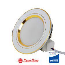 Tổng quan về đèn led âm trần đổi màu viền vàng rạng đông
