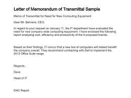 Memo Report Example Letter Of Memorandum