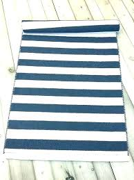 rag rug runner kitchen target rugs modern blue woven cotton h
