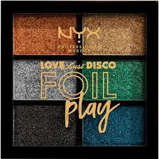 <b>NYX Professional Makeup</b> Love Lust Disco Foil Play Pigment Palette