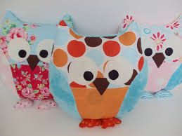 Owl Pillow Pattern Owl Pillow Pattern And Tutorial Dolls Stuffed Toys Pinterest