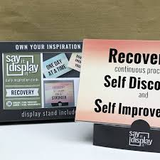 Recovery Quotes Recovery Counselor Aa Sayings Sponsor Gift Self Help Desk Decor Inspiration Daily Inspiration Motivational Sayings