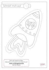 Kostenlose malvorlagen zum ausdrucken und ausmalen. Schneidevorlage Rakete Fur Den Astronauten Von Lange Hand Astronauten Rakete Kunststunden