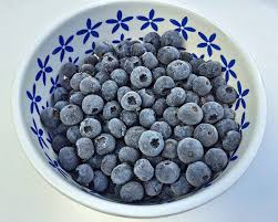Image result for frozen blueberry