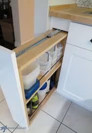 diy kitchen storage turn a