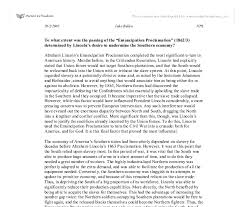 the emancipation proclamation essay  emancipation proclamation essays and papers