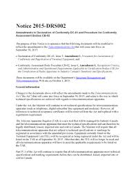 Notice 2015 Drs002 Certification And Engineering Bureau