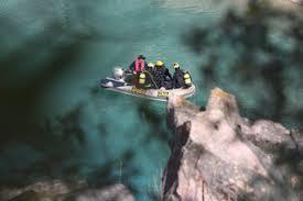 Corpo que caiu numa pedreira em Vila Viçosa encontrado a 24 metros de profundidade
