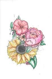 Floral Sketch Designs Floral Designs Sketches On Behance