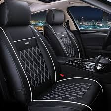 toyota rav4 seat covers vtear universal leather car seat covers for toyota rav4 c hr 2016