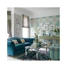 teal coloured sofa