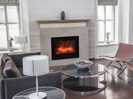amantii zero clearance series flush mount 26 in built in electric fireplace zecl 26 2923 flushmt