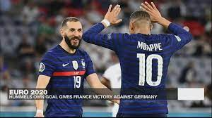 Euro 2021: Mats Hummels' own goal gives France 1-0 win over Germany - Euro  2021