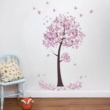 tree wall stickers flower mural