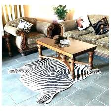 fake animal fur rugs faux cow skin rug cowhide 2 piece zebra print classic safari large area mat for home cowh