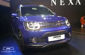 new car launches before diwaliMaruti Suzuki Ignis to Be Launched around Diwali 2016  Business
