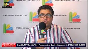 Interview d'Ivan Dumitru-marin, responsable du développement de la  franchise l'Orange Bleue au salon SME Paris 2016 | Choisir Sa Franchise